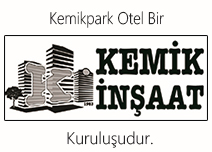 Kemik Park Otel / 0541 541 7474  ı  Bartın Merkez İLETİŞİM